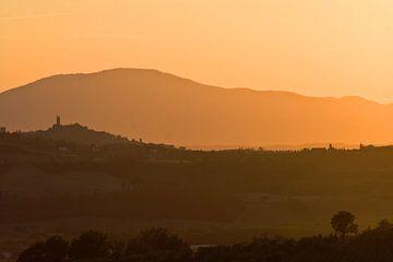 Ruïne van San Miniato, Toscane. van Rens Kromhout