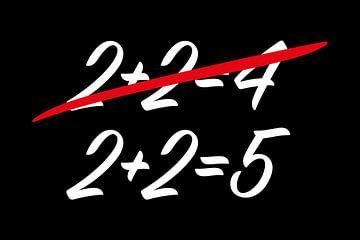 Doppeldenk 2+2=5 von TONYWORKS