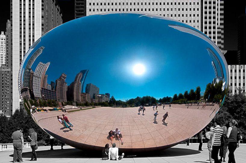Cloud Gate in Chicago van Jeroen Middelbeek