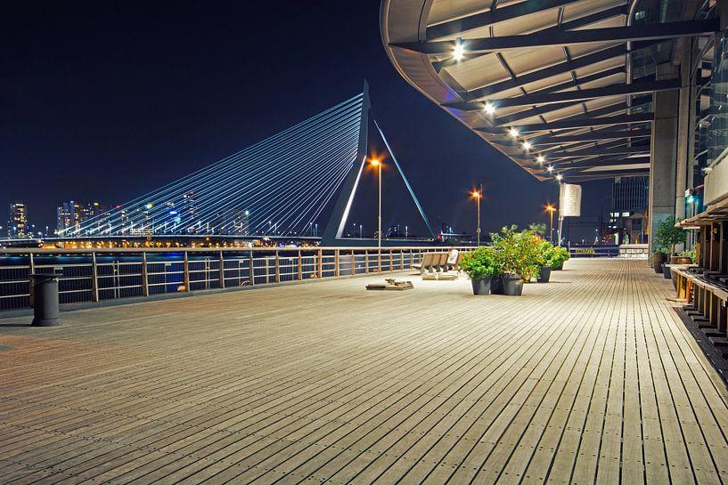 Erasmusbrug Rotterdam van Miranda Bos