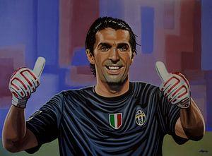Gianluigi Buffon Schilderij