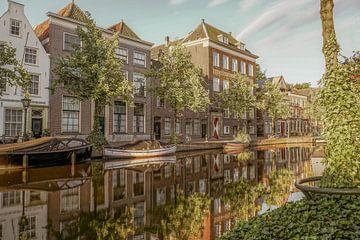 Oude Rijn in Leiden von Dirk van Egmond