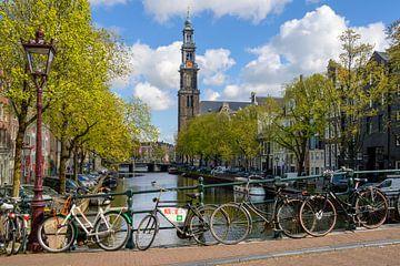 Westerkerk Amsterdam van Foto Amsterdam / Peter Bartelings