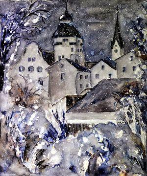 Wintery Simbach van Christine Nöhmeier