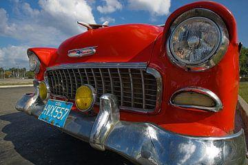 Chevrolet Bel Air in Havanna, Kuba von Henk Meijer Photography
