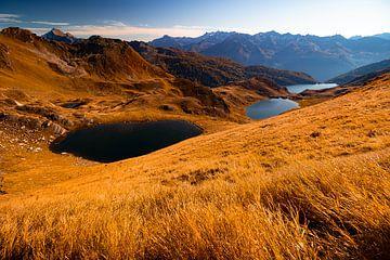 Laghetti di Tadeda, Tom en Ritòm - Ticino - Zwitserland van Felina Photography