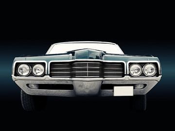 Voiture classique américaine thunderbird 1971