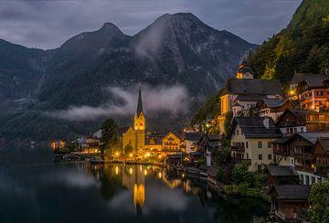 Hallstatt Österreich von Ron Westbroek