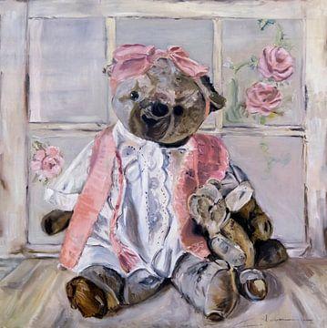 TEDDY BEAR JEANNNE van Kelly Durieu