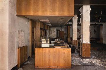 Verlassene Bar von Roman Robroek
