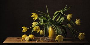 Stilleven tulpen van