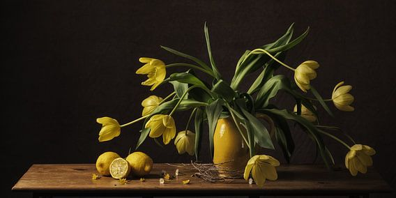 Stilleven tulpen