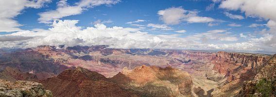 Uitzicht over de machtige Grand Canyon