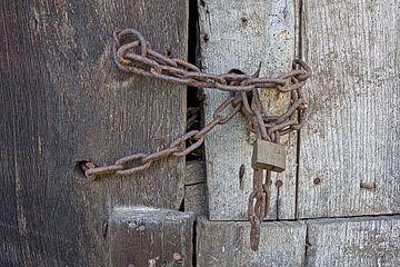 Franse deur op slot von Wybrich Warns
