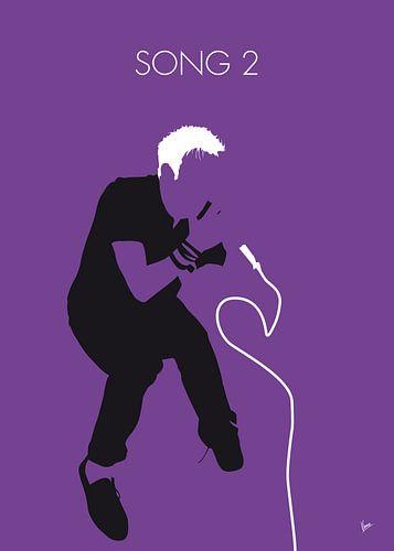 No191 MY Blur Minimal Music poster van