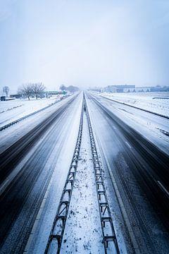 Lege snelwegen van Sebastiaan van der Ham