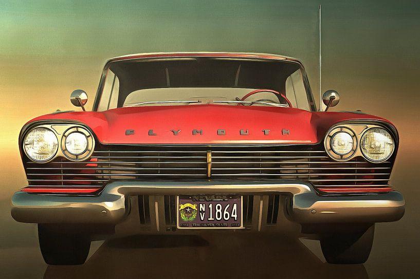 Klassieke auto - Old-timer Plymouth Belvedere van Jan Keteleer