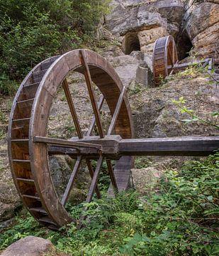 Historische Regensteinmühle von Sergej Nickel