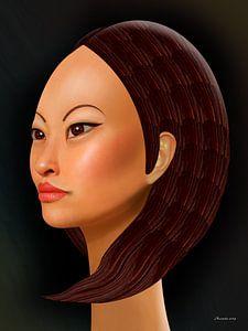Spezielles Haar von