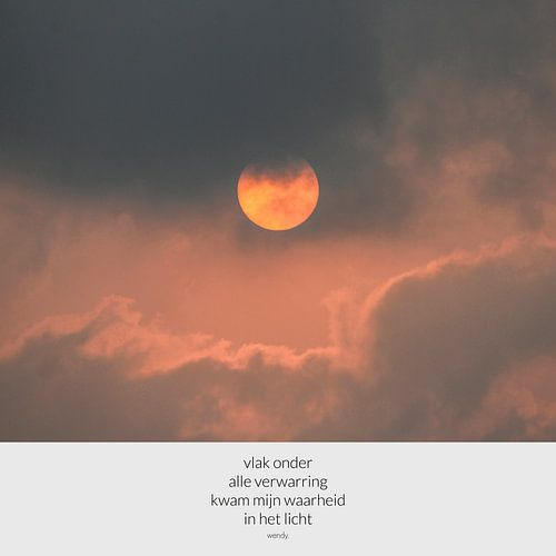Zon in India | Zonsondergang | Foto met tekst