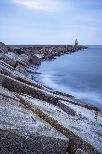De Noordpier bij Wijk aan Zee  van