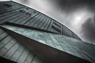 Abstracte architectuur in Rotterdam  van Ingrid Van Damme fotografie