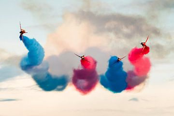 Red Arrows militair formatieteam van Kris Christiaens