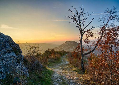 Cordes-sur-Ciel – Weg zum Himmel von Christa Thieme-Krus