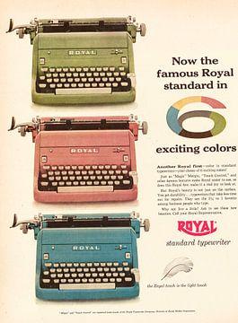 Vintage Werbung 1955 von Jaap Ros