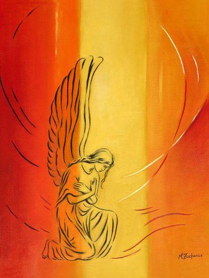 Engel van nederigheid - Angel Art