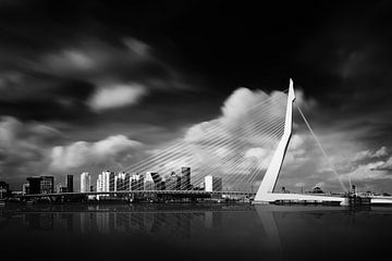 Rotterdam - Erasmus reflecties sur Martijn Kort