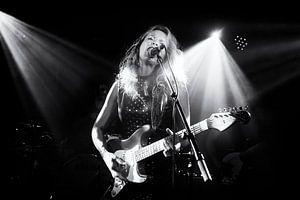 Gitariste Ana Popovic in concert