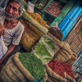 Gewürz Basar Indien von Carina Buchspies
