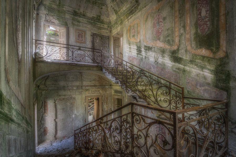 Stairs up, Stairs down  von Wim van de Water