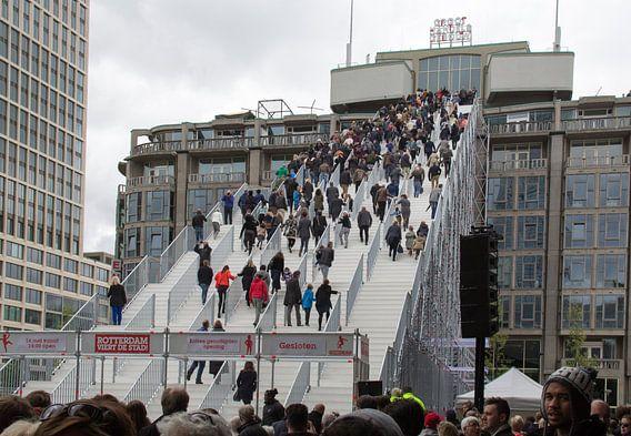 De Trap Rotterdam opening van Henk Alblas