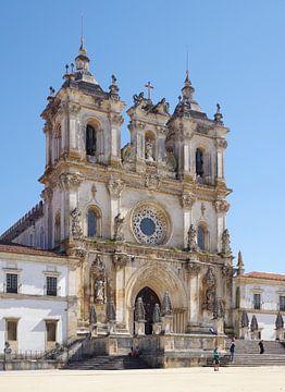 L'église du monastère d'Alcobaça (Portugal) sur Berthold Werner