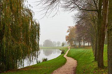 Elburg in de herfst van Jenco van Zalk