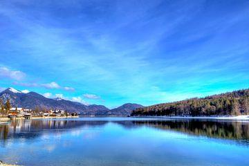 Met uitzicht op de Walchensee van Roith Fotografie