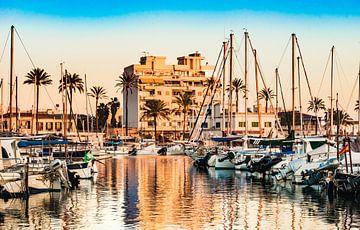 Portixol op Mallorca, Spanje Balearen van Alex Winter