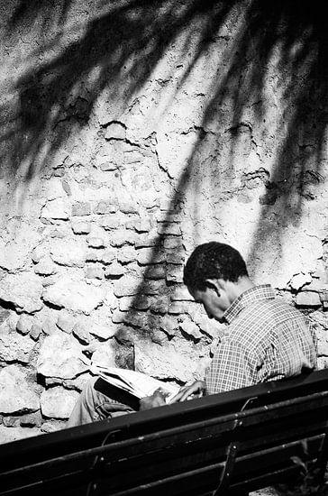 Reading bench von Ilse Verdonk