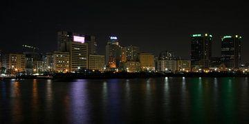 Dubai skyline van Nicole Wetzels