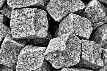Granieten straatstenen van Heiko Kueverling