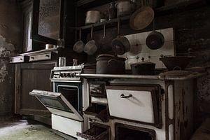 Urbex - verlaten keuken