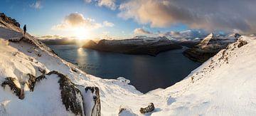 Färöer Inseln im Schnee von Stefan Schäfer