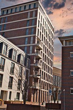 Binnenstad gebouwen in Weert van JM de Jong-Jansen