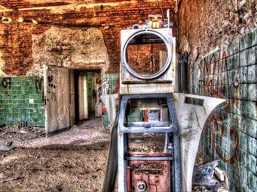 Beelitz Abandoned Room van Tineke Visscher