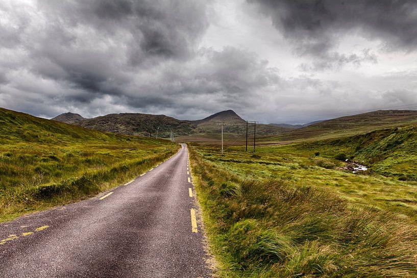 weg in ierland van Van Renselaar Fotografie