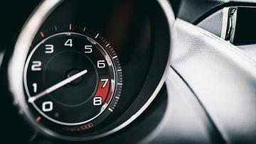 Jaguar F-type Geschwindigkeitsmesser von Ansho Bijlmakers