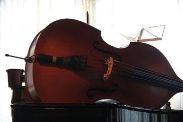 Cello op piano van Mr Greybeard