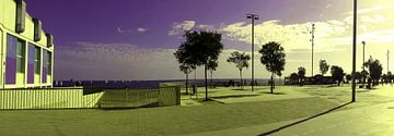 Badalona Boardwalk van 10x15 Fotografia